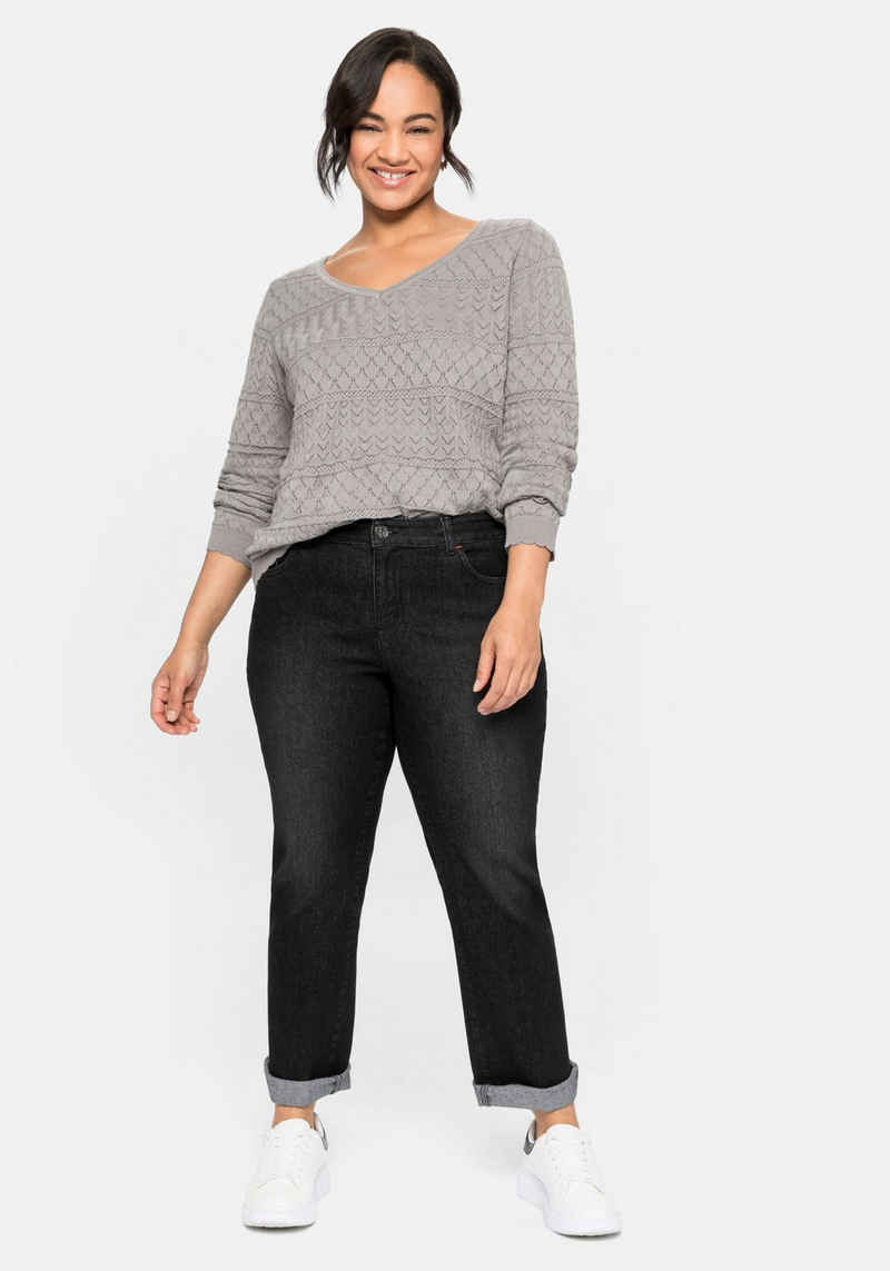 Sheego Gerade Jeans in extra-kurzer PETITE Größe