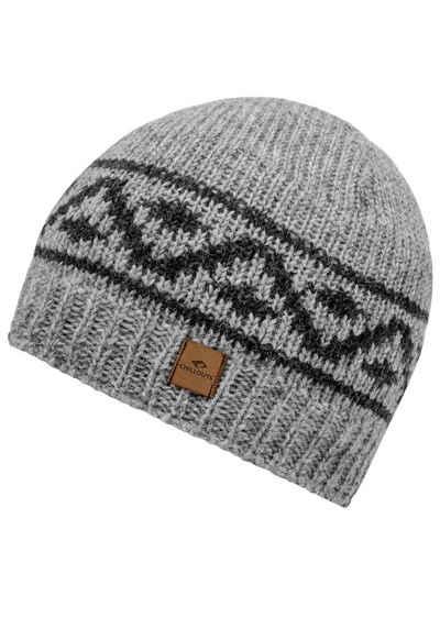 chillouts Strickmütze Sören Hat, Einheitsgröße, 100% Wolle, Fleecefutter
