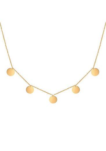 GOOD.designs Halsband »5 Coin Kette«