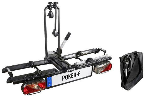 eufab fahrradtr ger poker f f r 2 fahrr der online kaufen otto. Black Bedroom Furniture Sets. Home Design Ideas