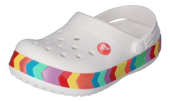 Crocs »CROCBAND CHEVRON BEADED« Clog White