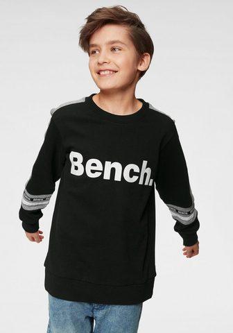 Bench. Sportinio stiliaus megztinis »mit farb...