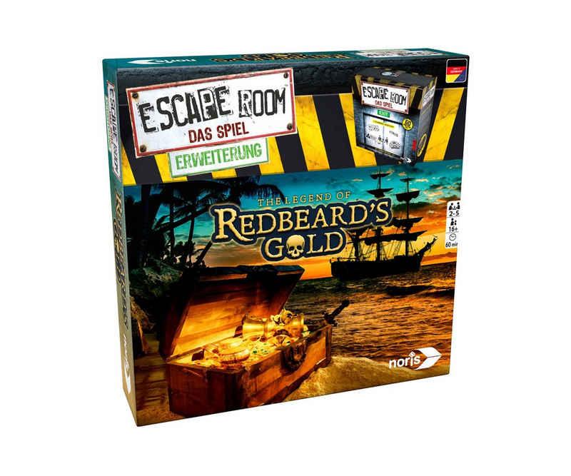 Noris Spiel, Familienspiel »Escape Room Das Spiel The legend of Redbeards Gold«