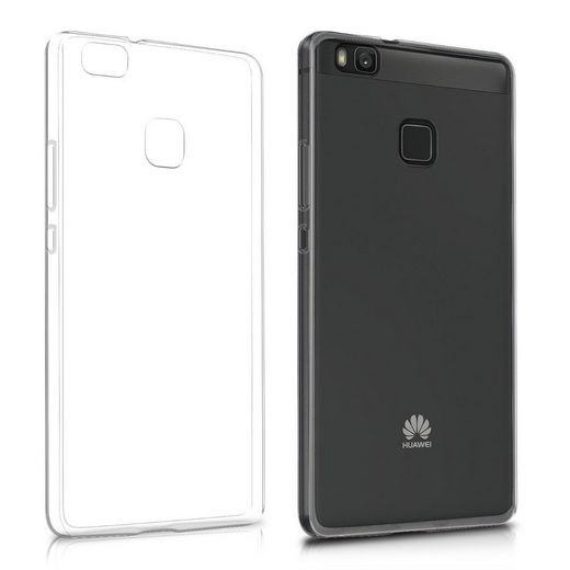 kwmobile Handyhülle, Hülle für Huawei P9 Lite - Ultra Slim Case Handy Cover Schutzhülle - TPU Silikon Backcover