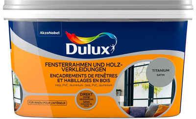Dulux Holzlack »Fresh Up«, für Fensterrahmen und Holzverkleidungen, titanium, 2 l