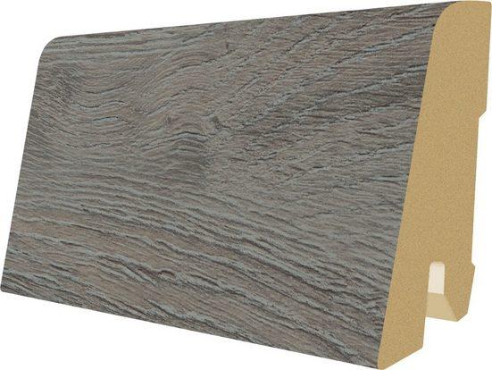 EGGER Sockelleiste »L484 - Palencia Eiche grau«, L: 240 cm, H: 6 cm