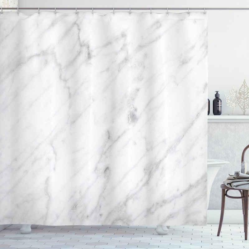 Abakuhaus Duschvorhang »Moderner Digitaldruck mit 12 Haken auf Stoff Wasser Resistent« Breite 175 cm, Höhe 200 cm, Marmor Carrara Organic Tile