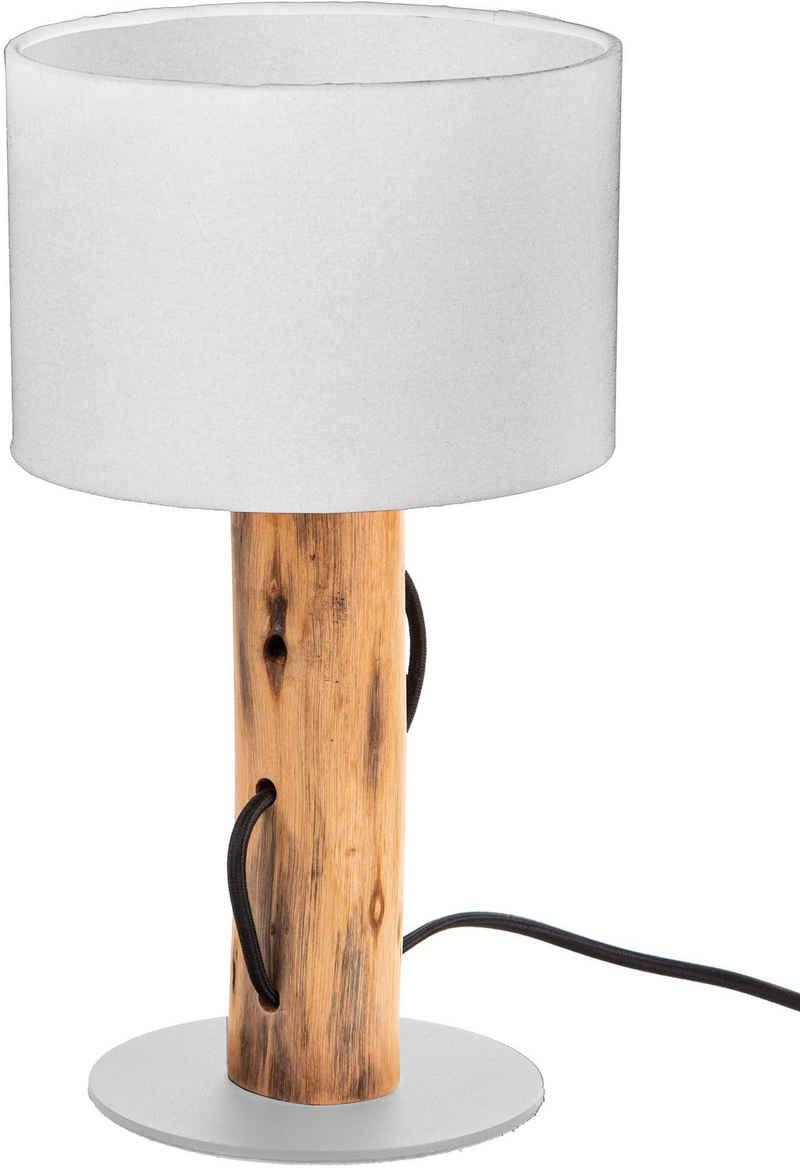 Nino Leuchten Tischleuchte »NORIN«, Eukalyptusholz