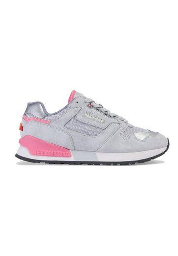 Ellesse »Ellesse Sneaker Damen 147 SUED AF 6-13541 Lt Grey Fluro Pink« Sneaker