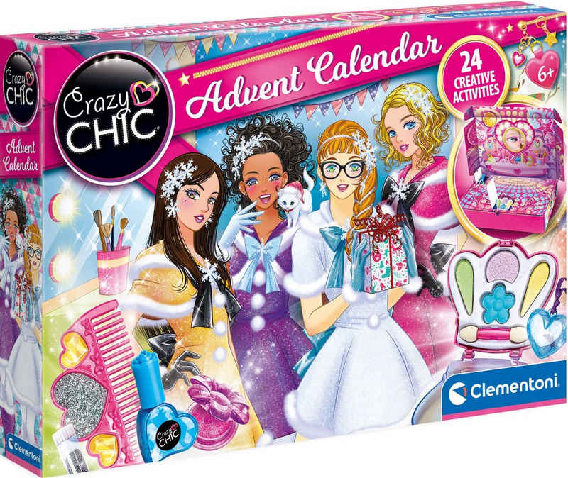 Clementoni® Adventskalender »Crazy Chic«, Made in Europe