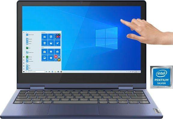 Lenovo IdeaPad Flex 3 11IGL05 Notebook 29,46 cm 11,6 Zoll, Intel Pentium Silber, UHD Graphics, 128 GB SSD