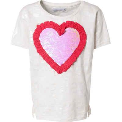 Desigual T-Shirt »T-Shirt mit Pailletten für Mädchen«
