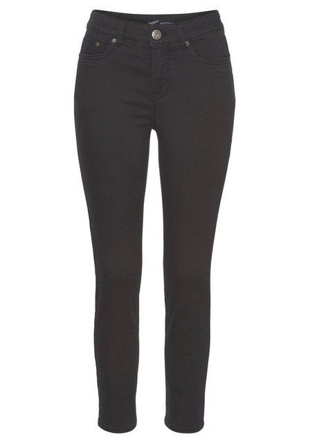 Hosen - Arizona 7 8 Jeans »Shaping« High Waist › schwarz  - Onlineshop OTTO