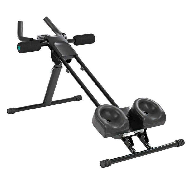 VITALmaxx Heimtrainer, fitmaxx 5 Trainingsgerät in schwarz