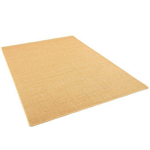 Sisalteppich »Sisal Natur Teppich Klassisch«, Snapstyle, Eckig, Höhe 6 mm