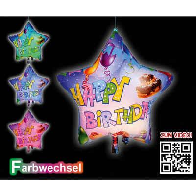 Happy People LED Dekolicht »LED-Folienballon Happy«