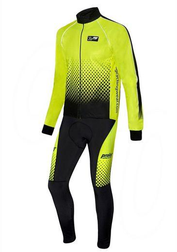 prolog cycling wear Fahrradjacke »Safety« mit wärmendem Thermoflausch