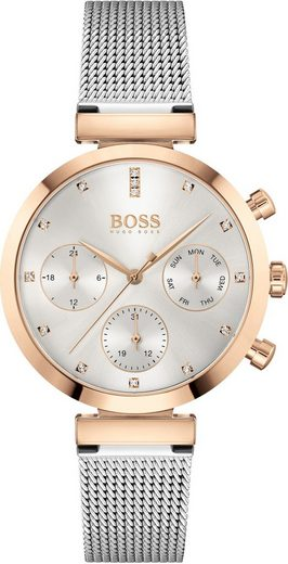 Boss Multifunktionsuhr »FLAWLESS, 1502551«