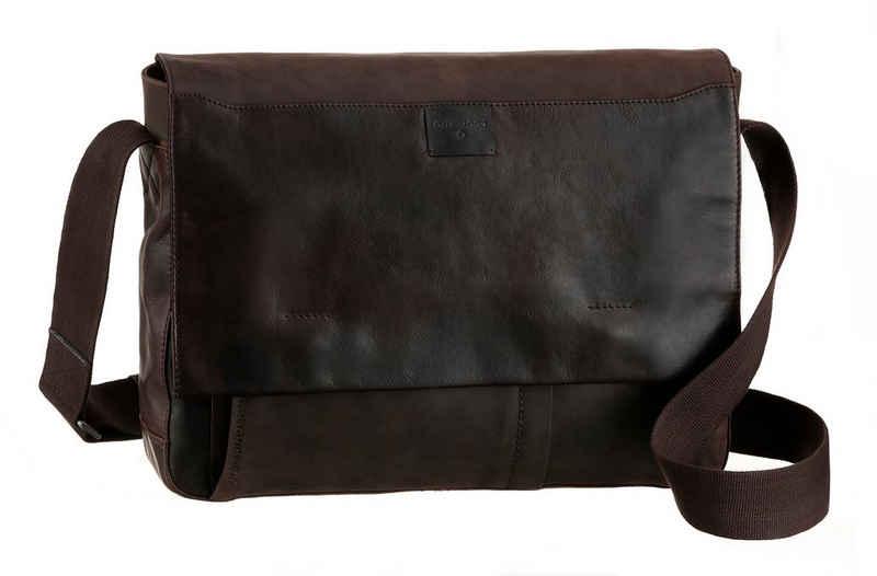 Strellson Messenger Bag »brick lane messenger lhf«, mit Laptopfach