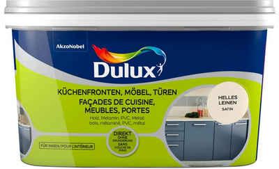 Dulux Holzlack »Fresh Up«, für Küchen, Möbel und Türen, hell leinen, 2 l