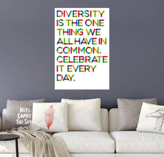 Posterlounge Wandbild, Diversity I