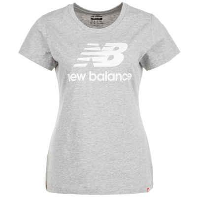New Balance Print-Shirt »Essentials Stacked Logo«