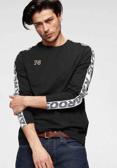 KangaROOS T-Shirt mit Lopoprint am Ärmel