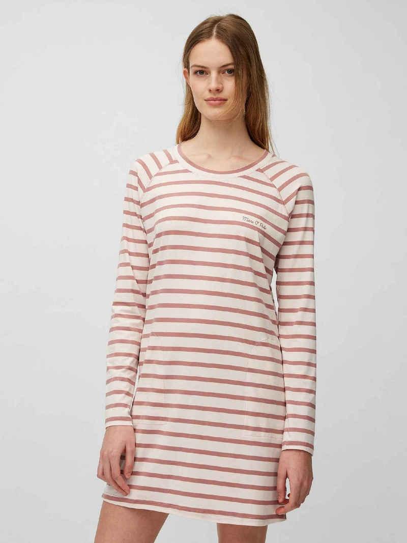 Marc O'Polo Nachthemd »Sleepshirt, Langarm« (1-tlg)