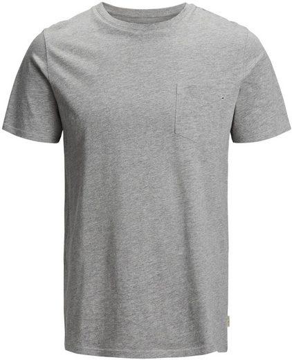 Jack & Jones Junior T-Shirt T-Shirt kurzarm Basic grau meliert