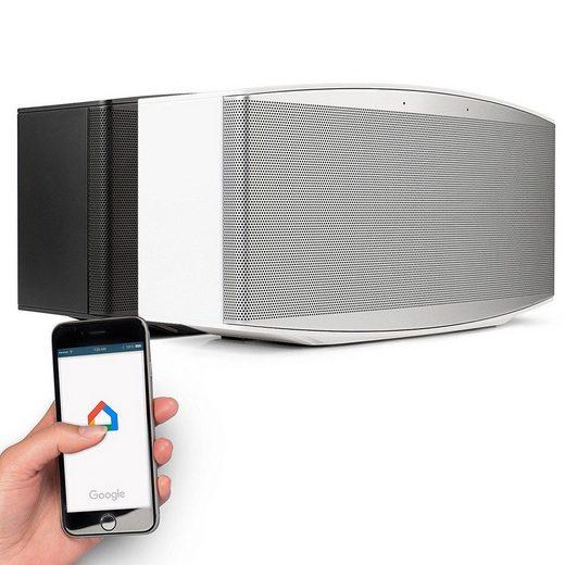 Blaupunkt MR 100 WH Bluetooth-Lautsprecher (Bluetooth, Chromecast Multiroom W-Lan Lautsprecher)