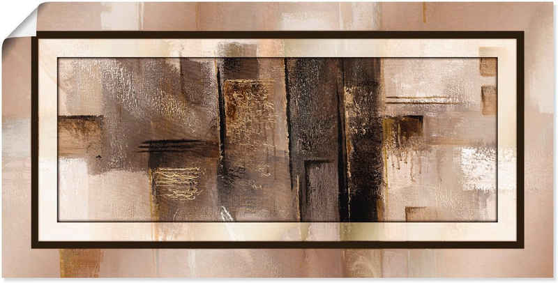 Artland Wandbild »Quadrate - abstrakt 1«, Muster (1 Stück), in vielen Größen & Produktarten - Alubild / Outdoorbild für den Außenbereich, Leinwandbild, Poster, Wandaufkleber / Wandtattoo auch für Badezimmer geeignet