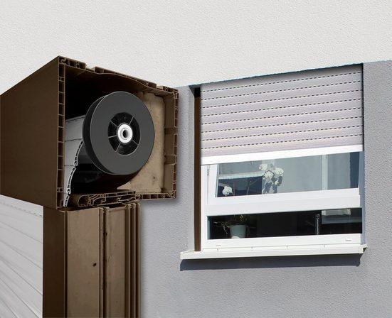 SCHELLENBERG Aufsatzrollladen, Kunststoff, für Roro-Fenster