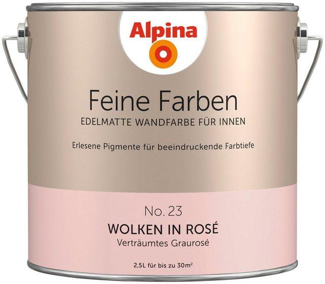 Alpina Feine Farben Wolken in Rosß©, rosa
