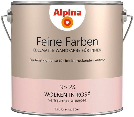 ALPINA Farbe »Alpina Feine Farben Wolken in Rosé«, 2,5 l