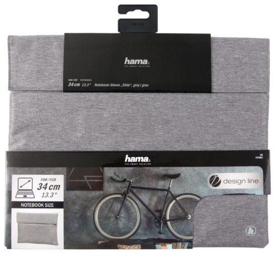 Hama Laptoptasche »Hama Notebook-Tasche Sleeve Slide Case Schutz-Hülle Laptop 13,5 bis 15,6 Zoll«, Modisches Notebook-Sleeve, Schutz des Notebooks vor Schmutz und Kratzern
