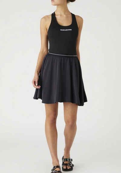 Calvin Klein Jeans Minirock »Logo elastic skirt« mit Clavin Klein Jeans Logo-Elastikwaistband