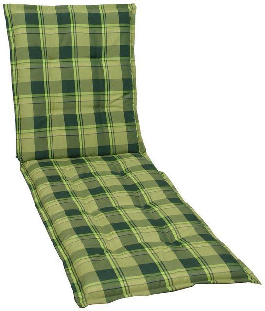 GO-DE Rollliegenauflage Dessin 19274, grün karo