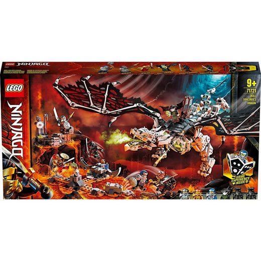 LEGO® Konstruktions-Spielset »LEGO® NINJAGO® 71721 Drache des Totenkopfmagiers«