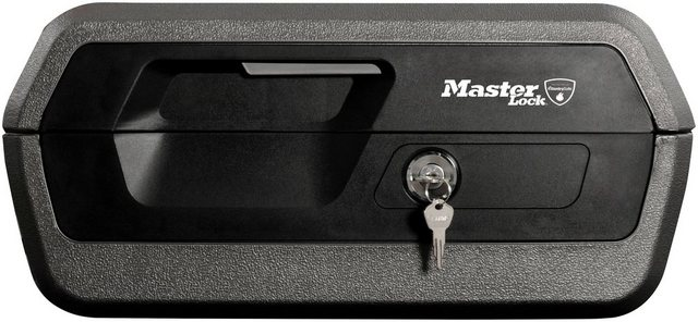 MASTER LOCK Geldkassette »Feuerschutz und wasserdicht«, Feuerschutz und wasserdicht, 10 Liter Innenvolumen