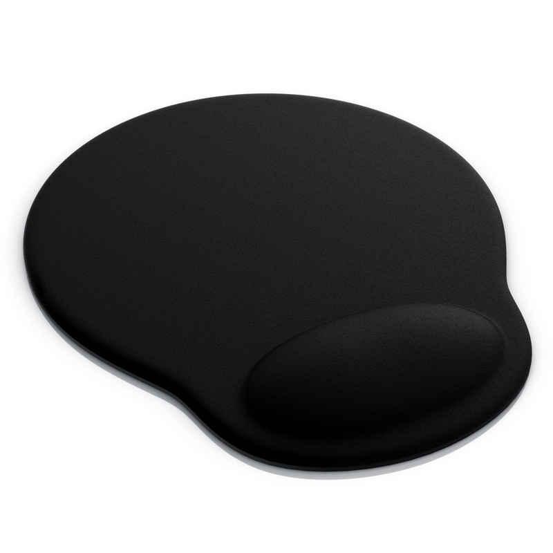 CSL Mauspad (1-St), Ergonomisches Schaumstoffkissen Office Mauspad Entlastung des Handgelenks / Mousepad