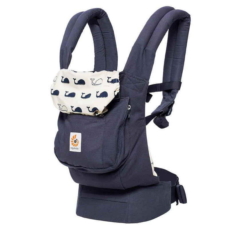 Ergobaby Babytrage »Original - Marine«, Bauchtrage, Rückentrage, Hüfttrage (3 Tragepositionen)