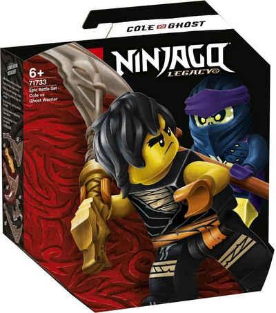 Lego Ninjago Spiel, »LEGO® Ninjago Legacy 71733 Battle Set Cole vs.«