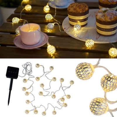 Pauleen LED-Lichterkette »Sunshine Glamour«, 20-flammig, Solarbetrieben