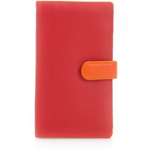 Mywalit Geldbörse »Large Tab Breast Wallet«, Leder