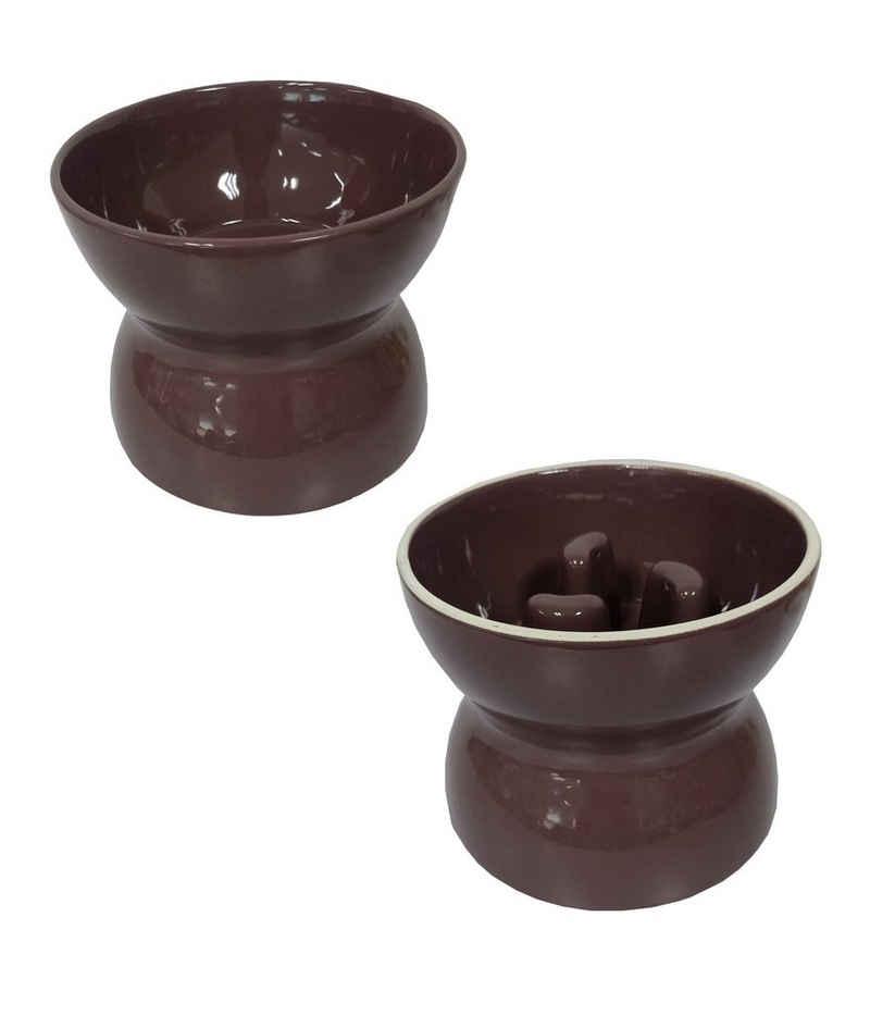 Dehner Futternapf »Hundenapf 2-in-1, wendbar, Keramik«