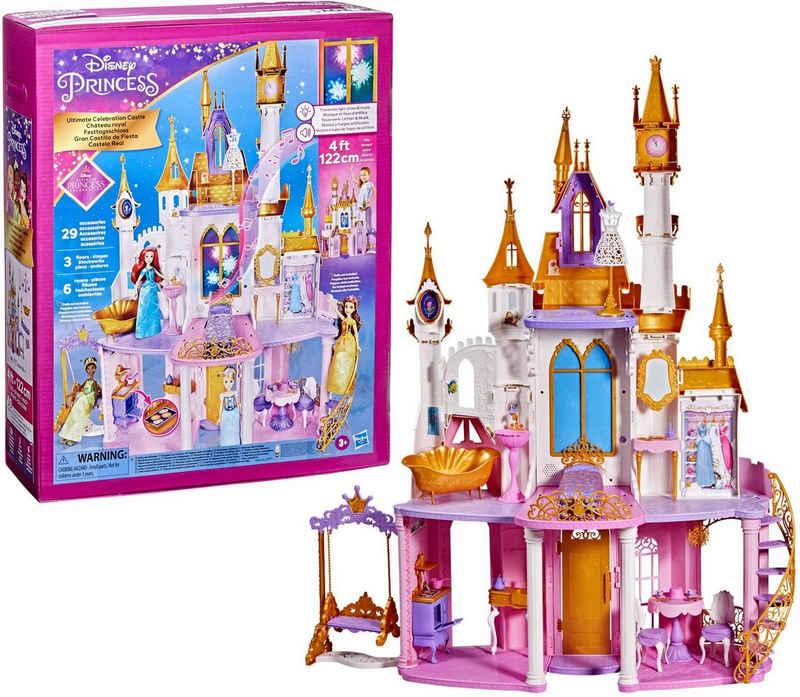 Hasbro Spielwelt »Disney Prinzessin Festtagsschloss«, mit Licht- und Soundeffekten