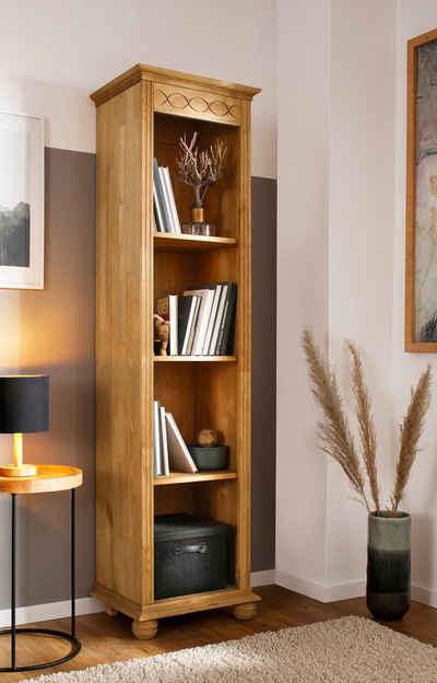Home affaire Standregal »Benevento«, 1-tlg., aus Kiefer massiv, Höhe 191 cm