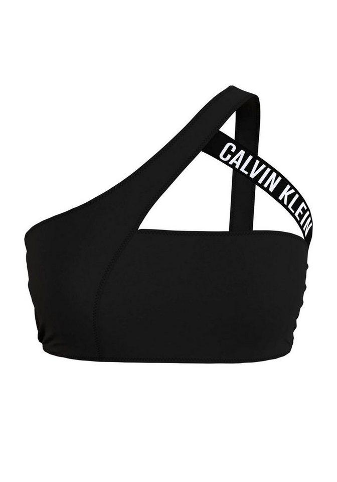 Bademode - Calvin Klein Bustier Bikini Top, in angesagter One Shoulder Form ›  - Onlineshop OTTO