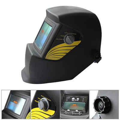 Mucola Schweißhelm »Schweißhelm Automatik Schweißschirm Schweißmaske Schweißschild Solar Anthrazit«