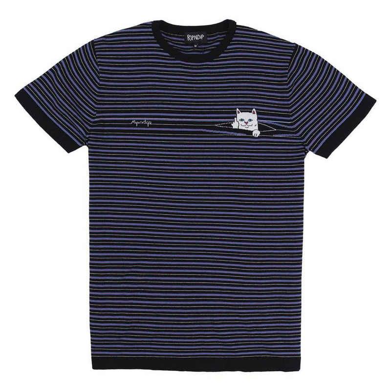 RIPNDIP T-Shirt »Peeking Nerm Jacquard Knitted - multi«